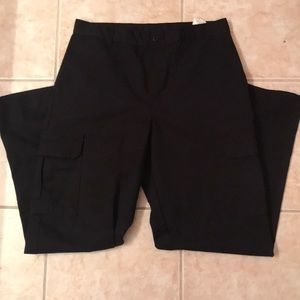 Men's Dickies black cargo pants 34x32